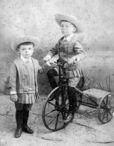 régi tricikli teherbicikli
